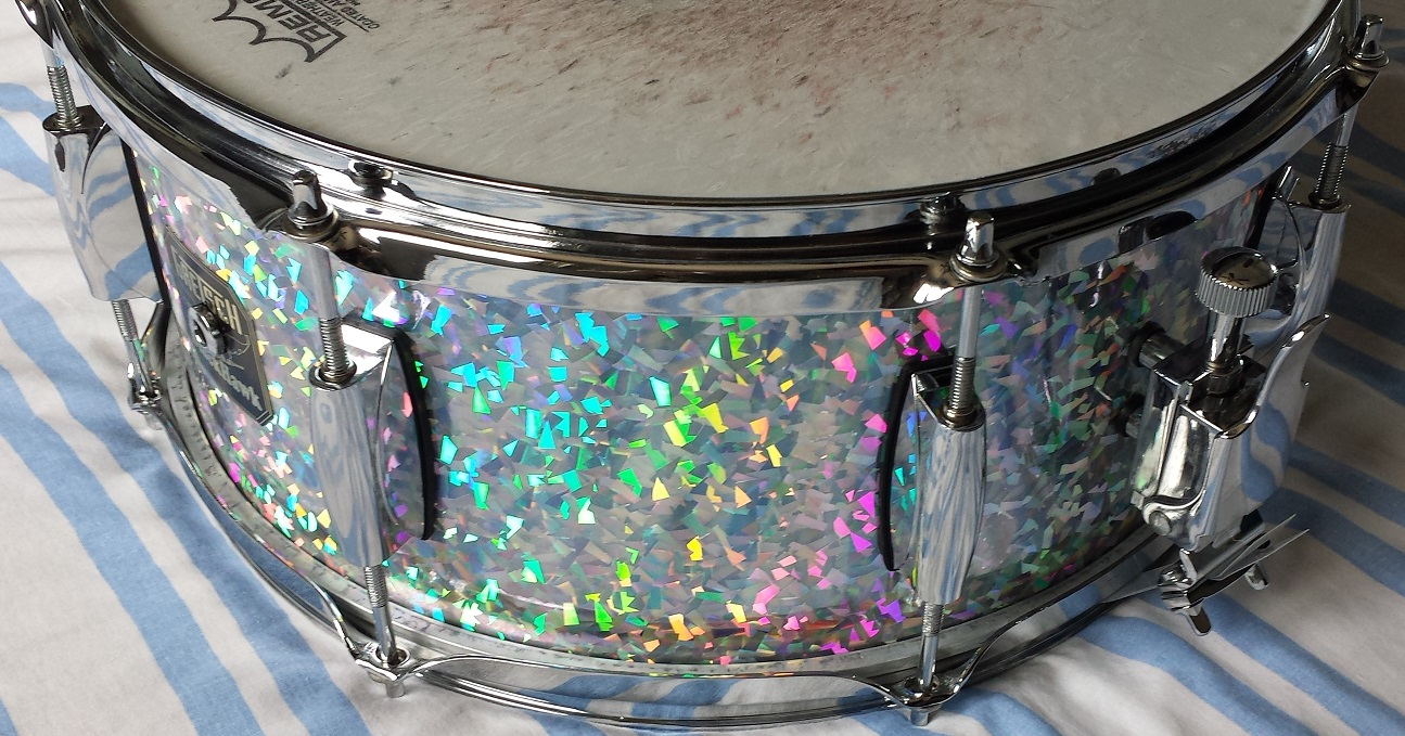Purlesque Ice Crystal Pearl Drum Wrap Walopus Drum Wrap