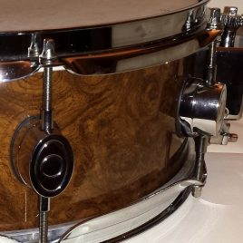Walopus Curly Walnut Wood Grain Drum Wrap