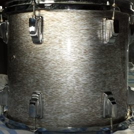 Soft Sweet Kiss Pearl Onyx Drum Wrap