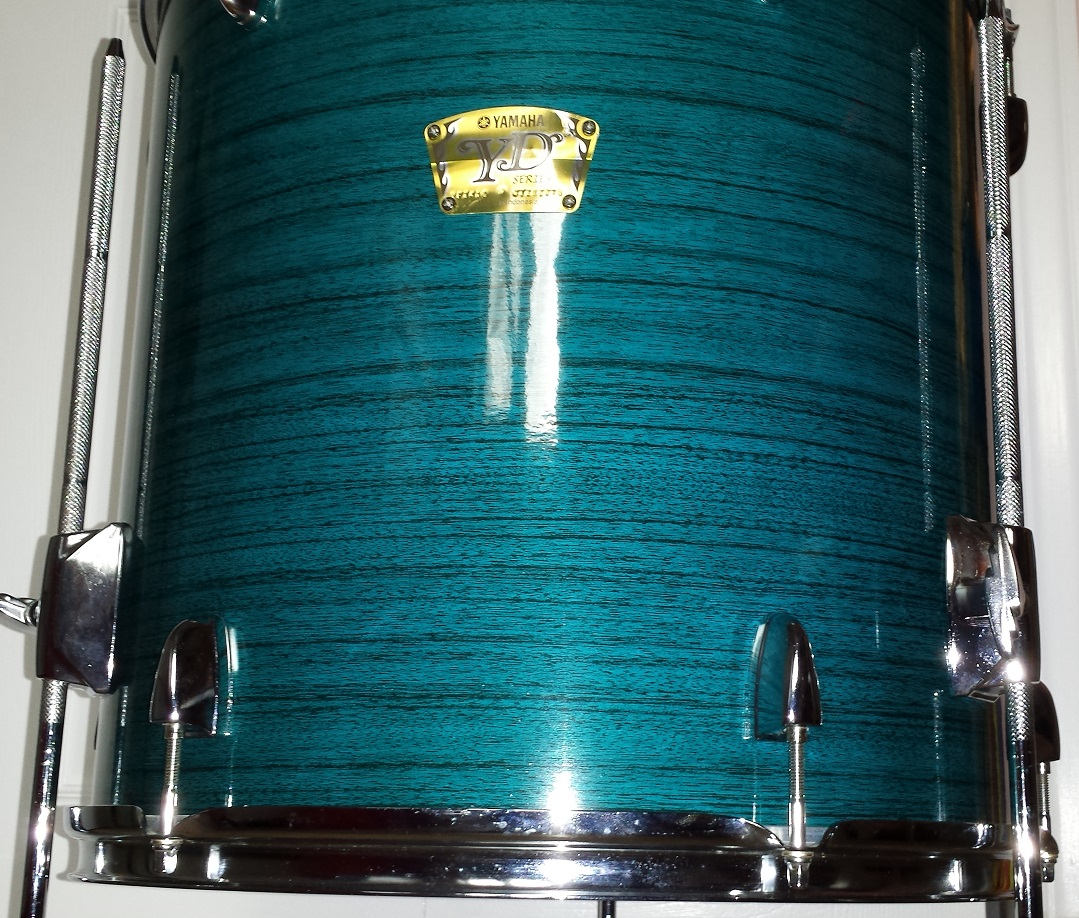 Walopus Blue Wood Drum Wrap