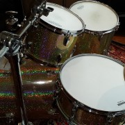 Champagne Sparkle Drum Wrap