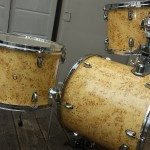 Birds Eye Maple Wood Grain Drum Wrap