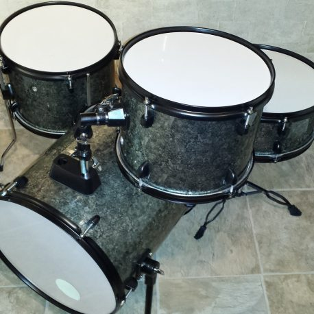 Purlesque Pewter Pearl Drum Wrap