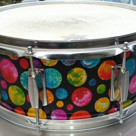 Unicorn Freckles Unique Drum Wrap