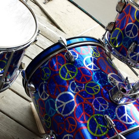 Peace Unique Drum Wrap