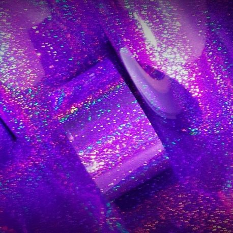 Plum Loco Prismatic Sparkle Drum Wrap
