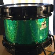 Green Holo-Prismatic Drum Wrap