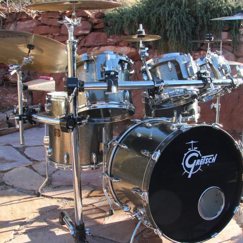 Purlesque Graphite Pearl Drum Wrap