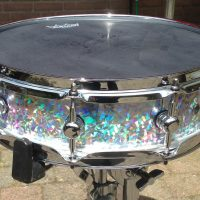 Purlesque Ice Crystal Pearl Drum Wrap
