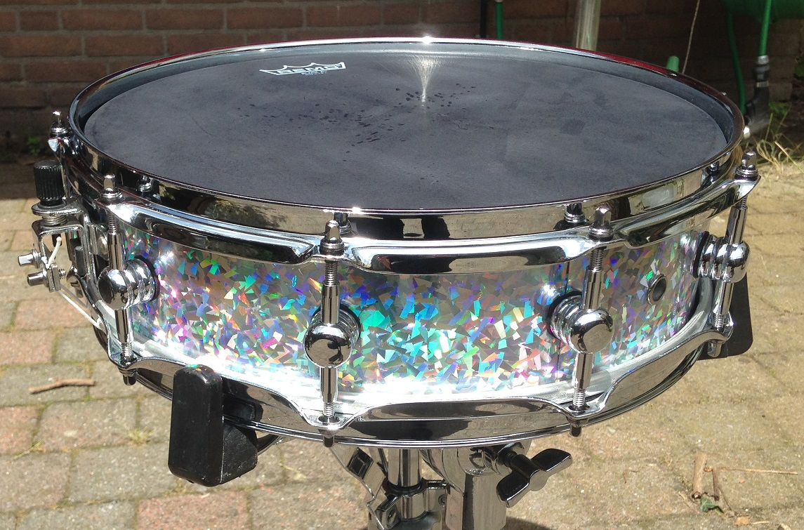 Purlesque Ice Crystal Pearl Drum Wrap - Walopus Drum Wrap