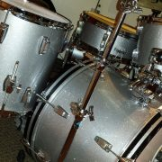 Traditional Silver Sparkle Drum Wrap