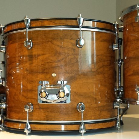 Transylvanian Walnut Drum Wrap