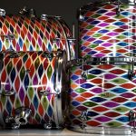 Slipstream Shimmer Drum Wrap