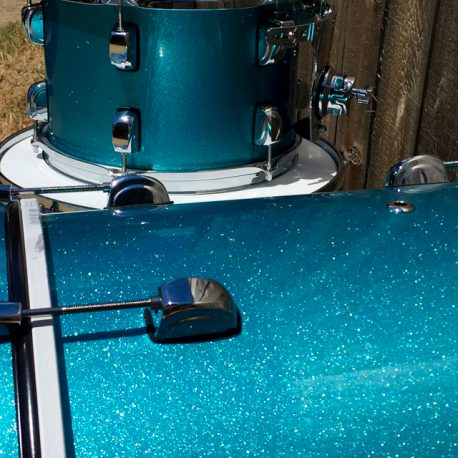 """I am very pleased with the vintage look of these drums. They look very distinguished.  I was worried about color continuity because I had to order the wraps at different times. Even with months between orders, all of the colors are matched perfectly.  Thanks for the incredible quality control.  This is the only place you need for great wraps!"""