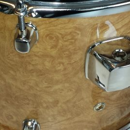 Curly Maple Drum Wrap