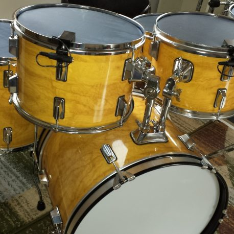 Figured Maple Drum Wrap