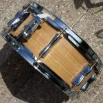 Blond Oak Drum Wrap