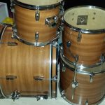 Mahogany Drum Wrap