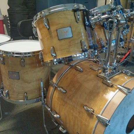 Pearl Custom Z in Figured Maple Drum Wrap