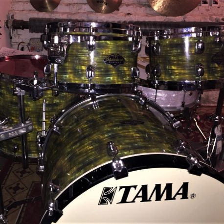 Green Glass Strata Drum Wrap
