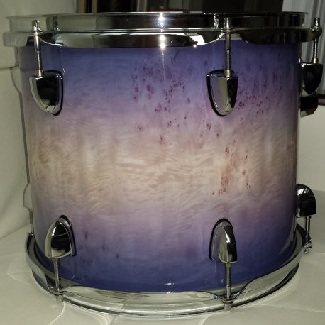 Tundra Birch with Fade Drum Wrap