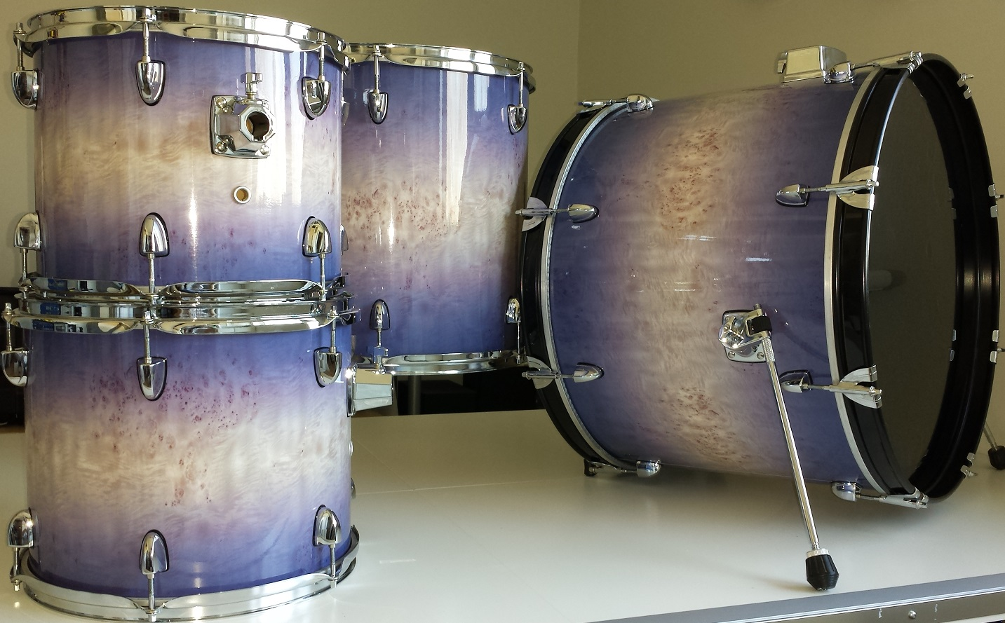 how to clean drum wrap