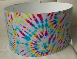 Custom Tie-Dye Drum Wrap