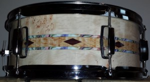 Custom Inlay Drum Wrap