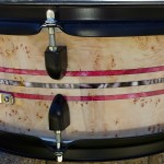 Mappa Burl with Inlay Drum Wrap