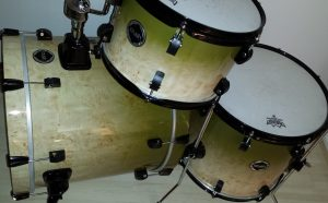 Tundra Birch with a Dirty Green Fade