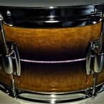 Custom Wood Grain Drum Wrap