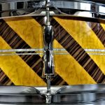 Walopus Custom Wood Grain Drum Wrap