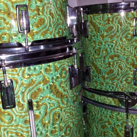 Liquid Emerald Drum Wrap