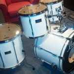 White Economy Drum Wrap