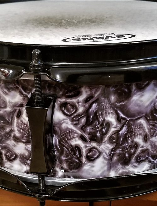 Catacomb of Skulls Drum Wrap