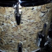 Swirly Pearly Drum Wrap