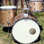 Traditional Champagne Sparkle Drum Wrap