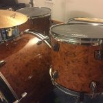 Pecan Wood Burl Drum Wrap