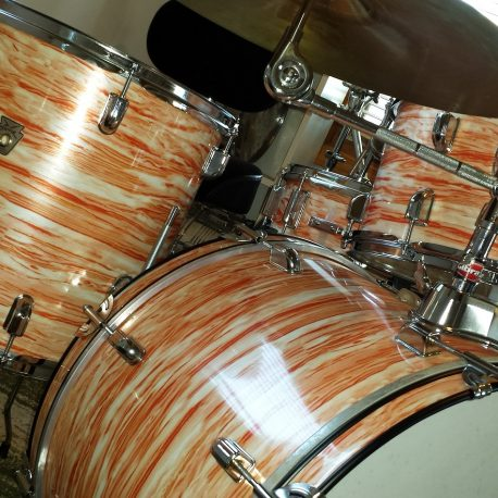 Pink Oyster Pearl Drum Wrap