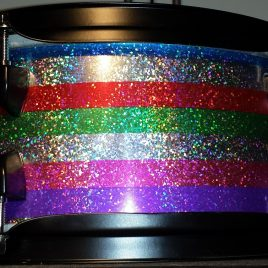 Salesman Glitter Drum Wrap