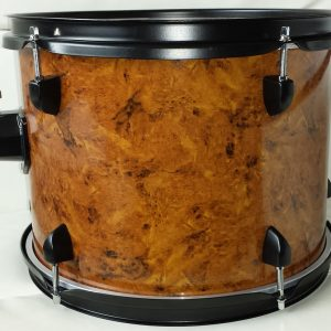 Pecanwood Burl Drum Wrap