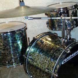 Flying Walopus Abalone Drum Wrap