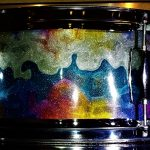 Pearl Cocktail Sparkle Drum Wrap
