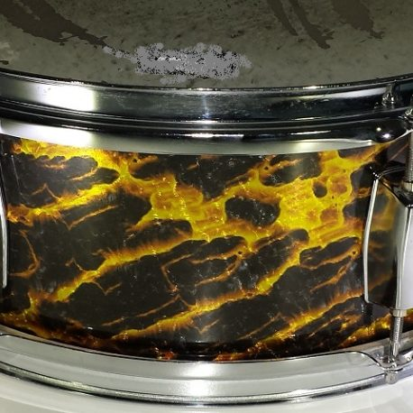 Dragon Fire Pearl Drum Wrap