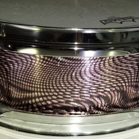 Alien Reptile Pearl Drum Wrap