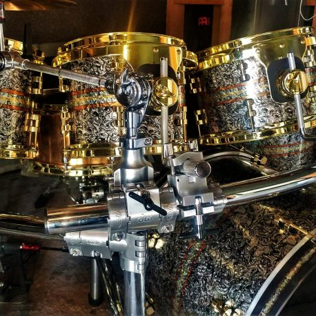 Pearl of Dreams Drum Wrap With added inlays