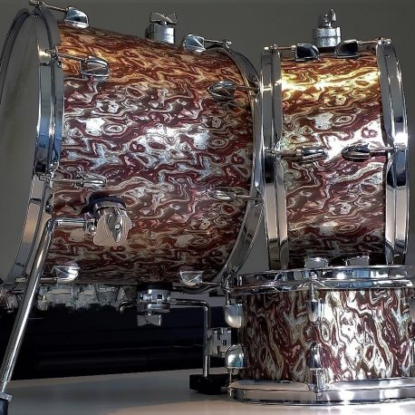 Ghost Pearl Drum Wrap