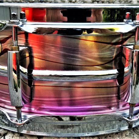 Blush Purple Rain Drum Wrap