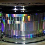 The Giant Eel Shimmer Sparkle Drum Wrap