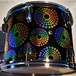 All Starr Fruit punch Glitter Drum Wrap